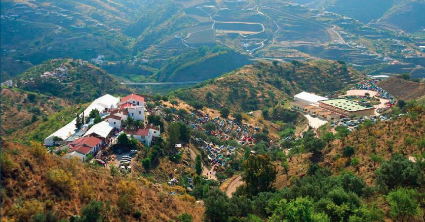 Karma Guen view from mountain